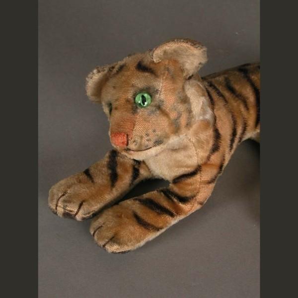 Steiff Tiger. Germany. 1950...
