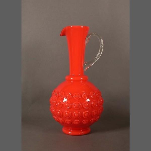 Large Murano glass pitcher....