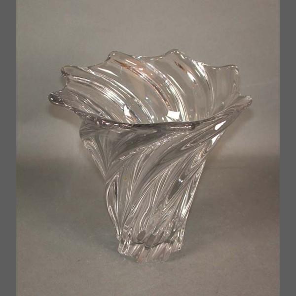 Heavy Glass Vase. Vannes