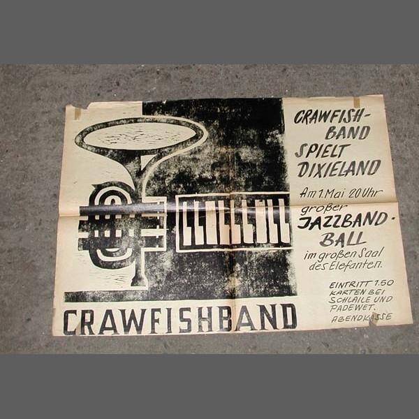Konzertplakat. Crawfish,...