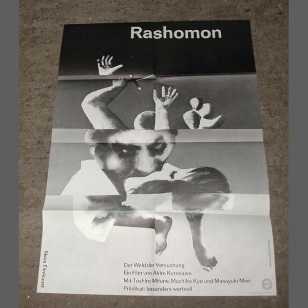 Kinoplakat. Rashomon
