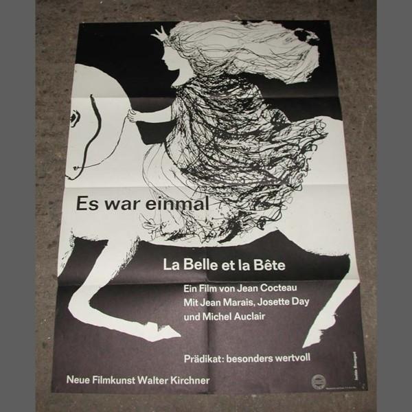 Kinoplakat. Jean Cocteau La...