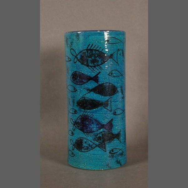 Keramikvase. Rimini Blu....