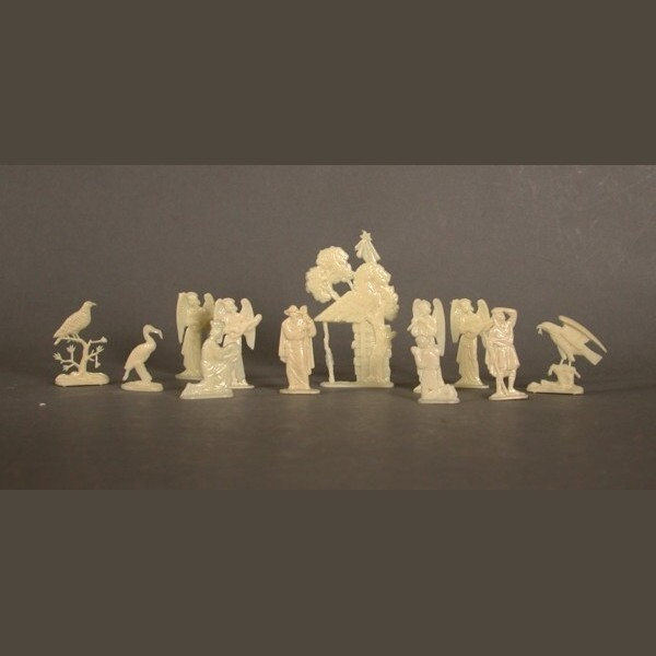 Weihnachts - Margarine Figuren