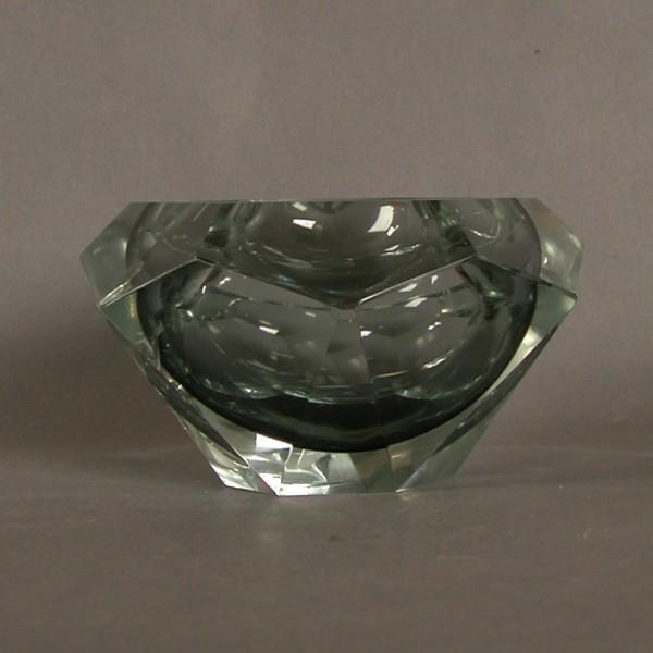 Glass Ashtray Art Deco