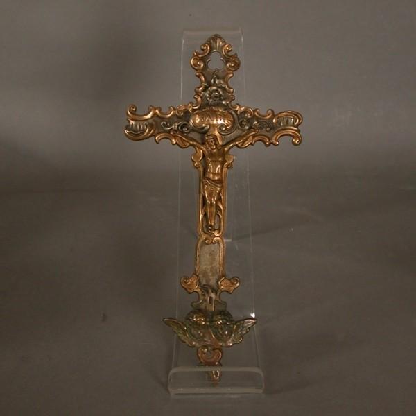 Rococo crucifix. 1700 - 1730.