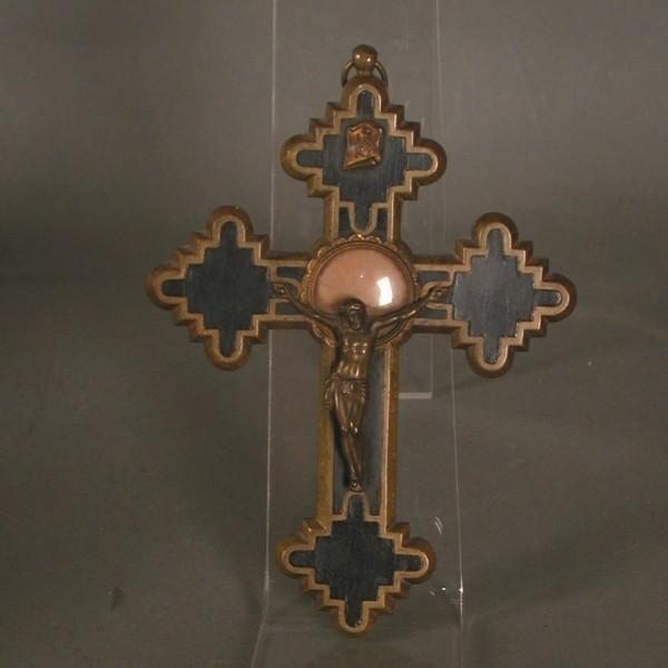 Crucifix - reliquary....