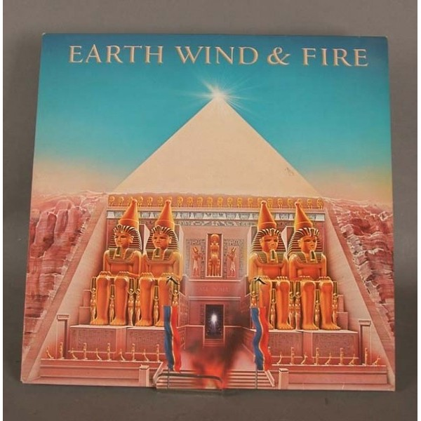 LP. Vinyl. Earth, Wind and...
