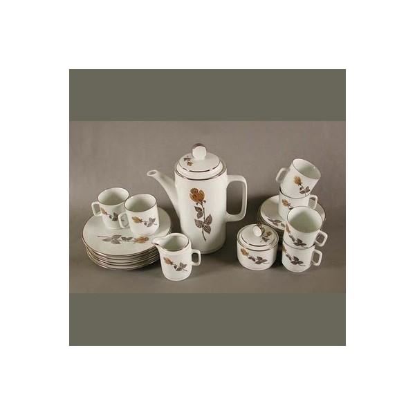 Porcelain coffee service...