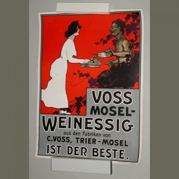 Jugendstil Plakat. Voss...