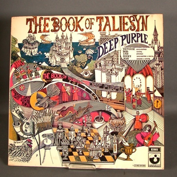 LP. Vinyl. Deep Purple -...