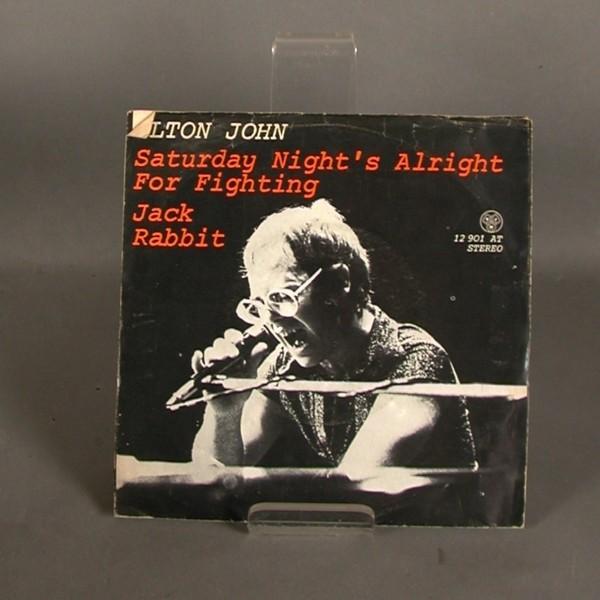 Single. Vinyl. Elton John -...