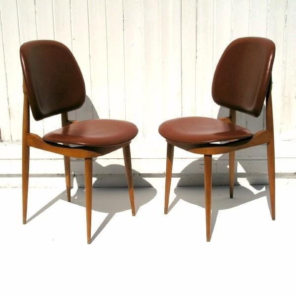 Two design chairs. Guariche...