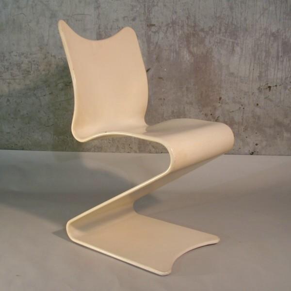 Verner Panton. S - Chair,...