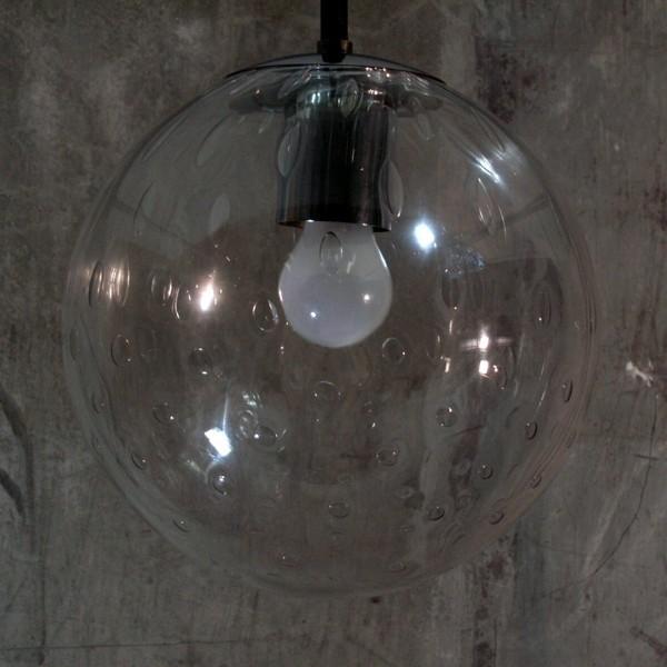 Design. Ceiling glass globe...