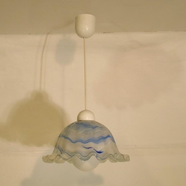 Design. Ceiling glass lamp....