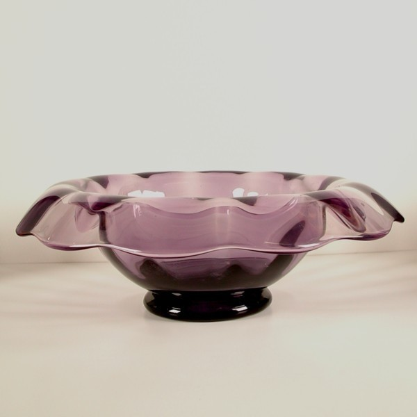 Murano. Big purple glass...