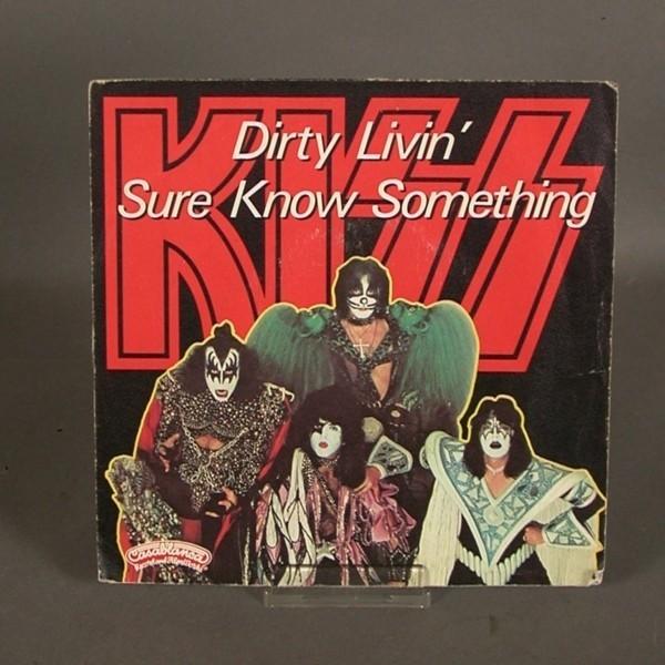 Single. Vinyl. Kiss - Dirty...