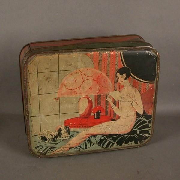 Caja  de chapa. Art...