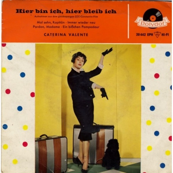 EP. Caterina Valente - Hier...