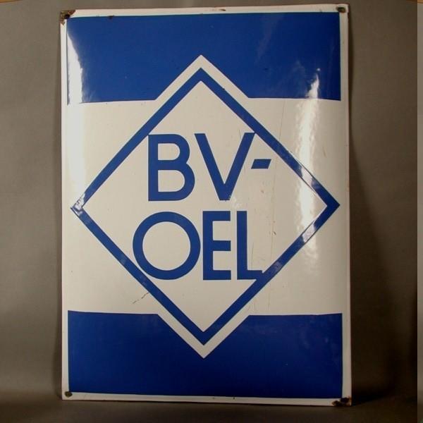 Advertising sign. ARAL. BV...