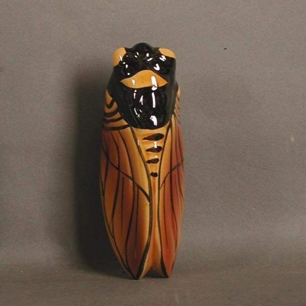 Ceramic. Wall vase in the...