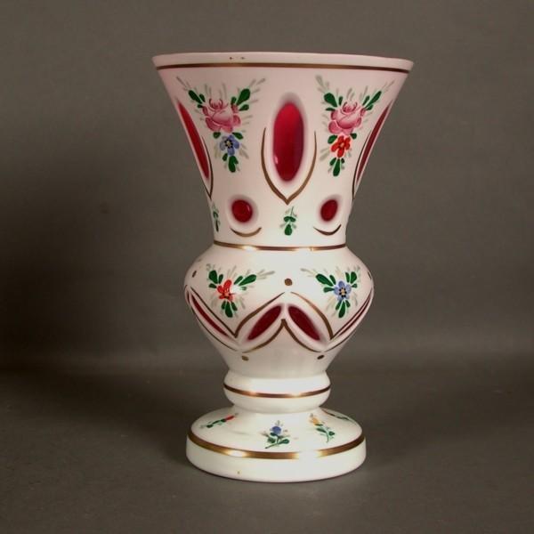 Crystalex. Glass vase....