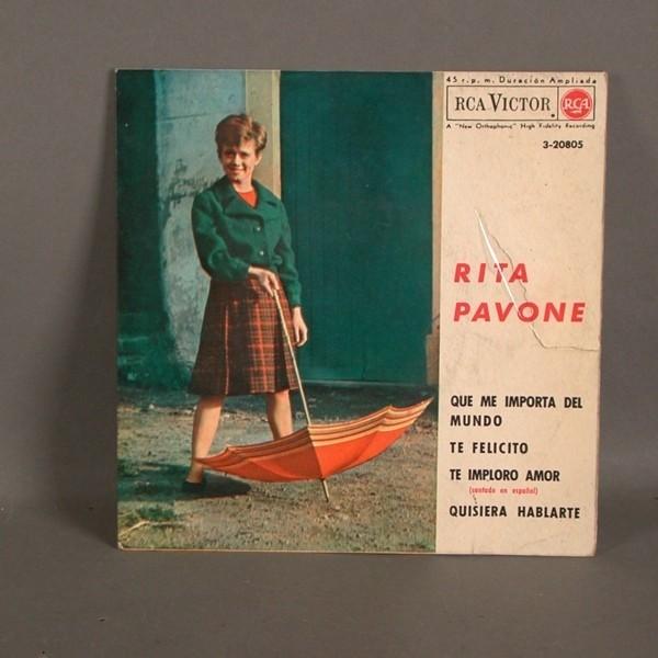 EP. Rita Pavone. RCA....