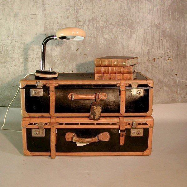 Antique suitcase for...