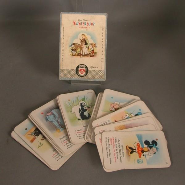 Selten. Karten Quartett...