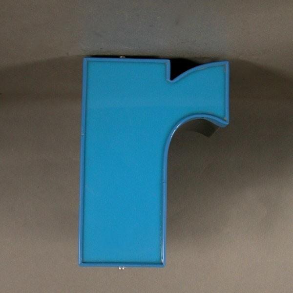 Big vintage sign letter - r...