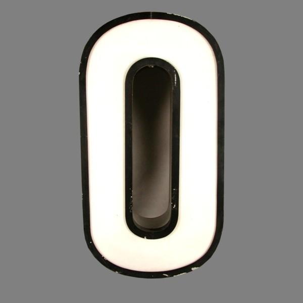 Big vintage sign cipher - 0...