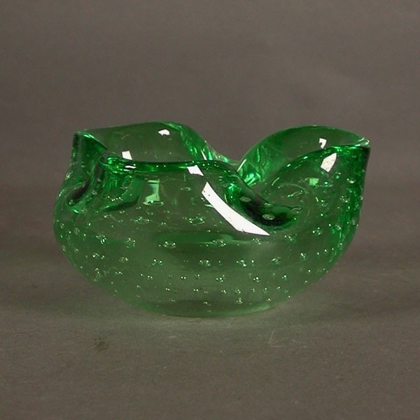 Cenicero de cristal de...