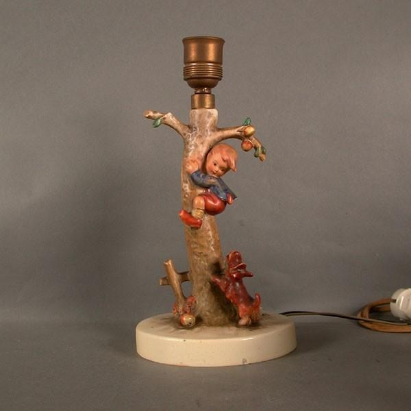 Hummel porcelain lamp foot....