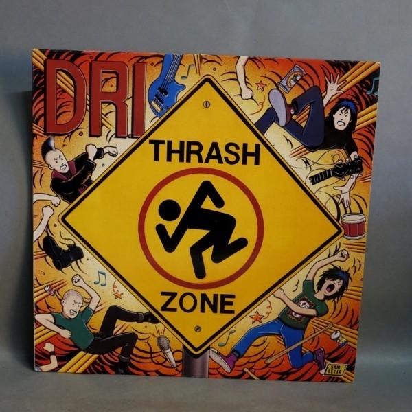 LP. Vinyl. D.R.I. - Trash...