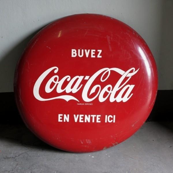 Advertising sign. Coca -...