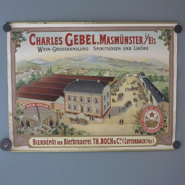 """Vintage beer poster """"..."""