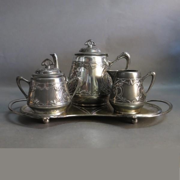 Art Nouveau tea service....
