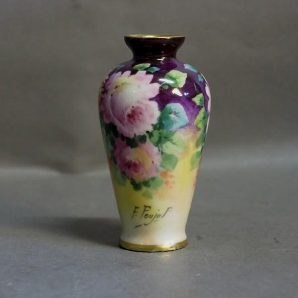 Art Nouveau porcelain vase...