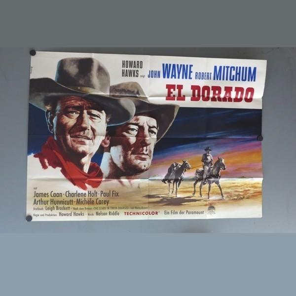 Kinoplakat El Dorado. John...