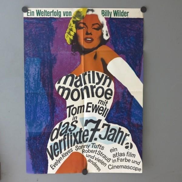 Cinema vintage poster. Das...