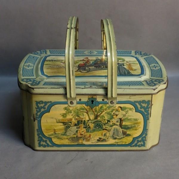 Caja de chapa. 1900 - 1920.