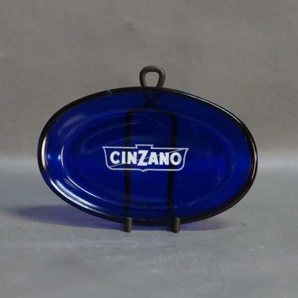 Cinzano advertisement glass...