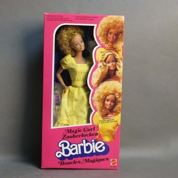 NRFB. Barbie Magic Curle....