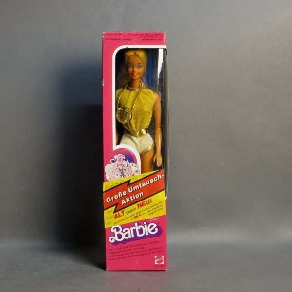 Barbie Disco en su caja...