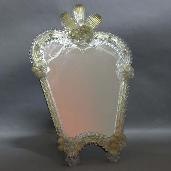 Murano glass mirror. Italy...