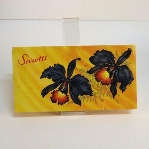 Sarotti advertising...