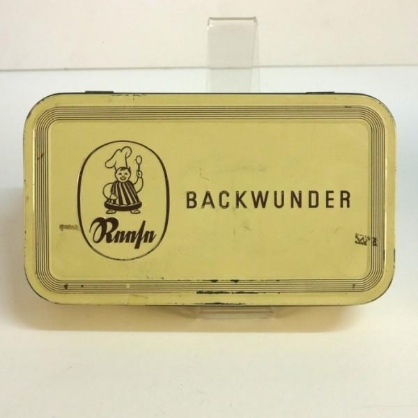 """Blechdose """"Backwunder"""" 1910..."""
