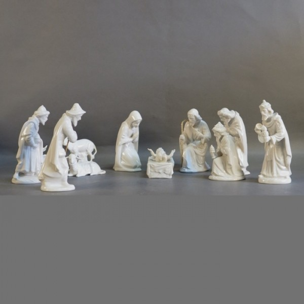 11 Krippenfiguren aus...
