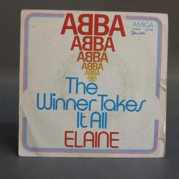 Single. ABBA - The Winner....